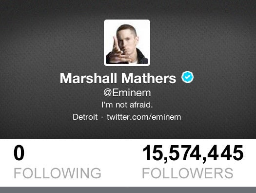 No. 1: Marshall Mathers