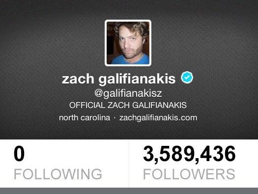 No. 9: Zach Galifianakis