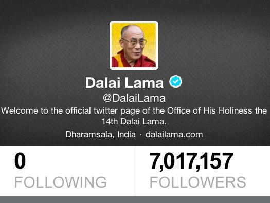 No. 5: Dalai Lama