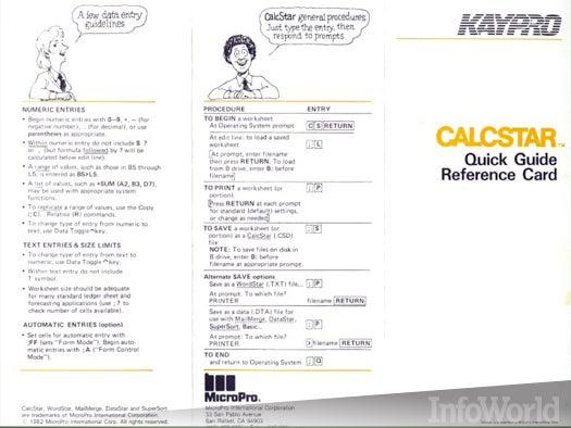 Spreadsheets: CalcStar