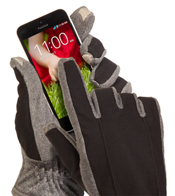 Isotoner smarTouch Tech Stretch Gloves