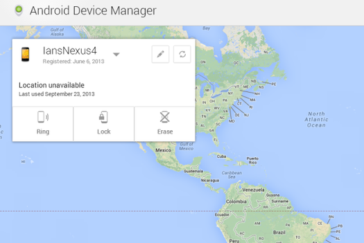 HIT: Android Device Manager
