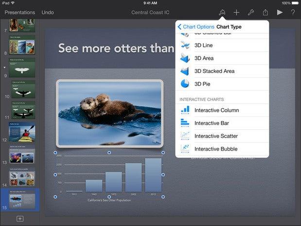 iWork -- Pages, Numbers, Keynote) (Apple)