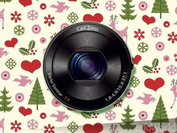 Sony DSC-QX100 lens-style camera