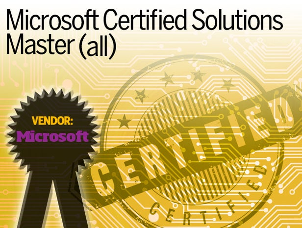 Microsoft Certified Solutions Master (all)