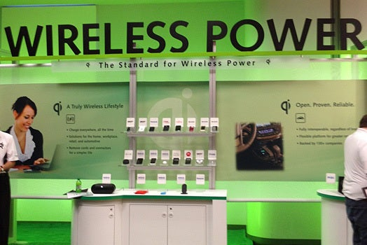 Wireless Power Consortium CES 2013