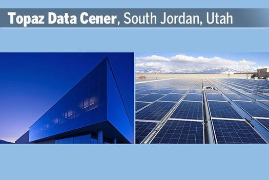 Topaz Data Cener, South Jordan, Utah
