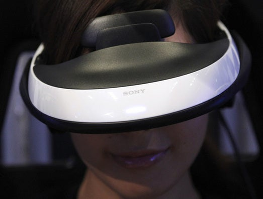 "Sony's ""personal 3D Viewer HMZ-T1"""