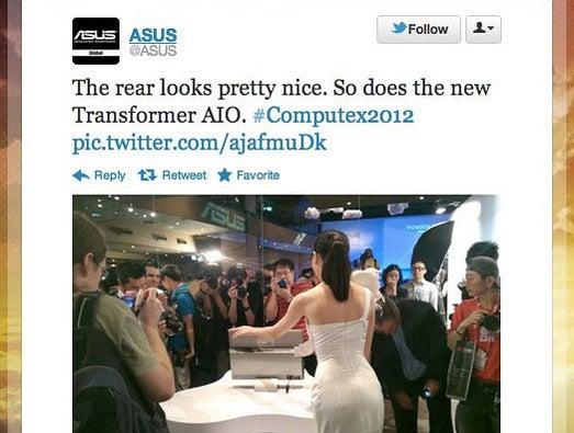 ASUS's sexist Tweet