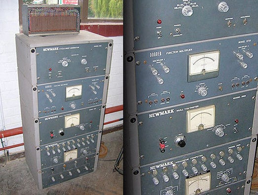 Newmark analogue computer