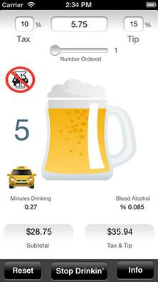 Drinkin' Buddy (iOS, $0.99)