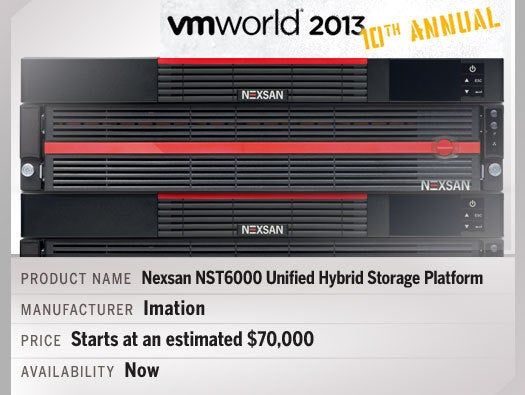 Nexsan NST6000 Unified Hybrid Storage Platform