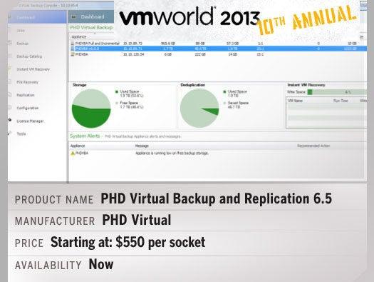 PHD Virtual Backup and Replication 6.5