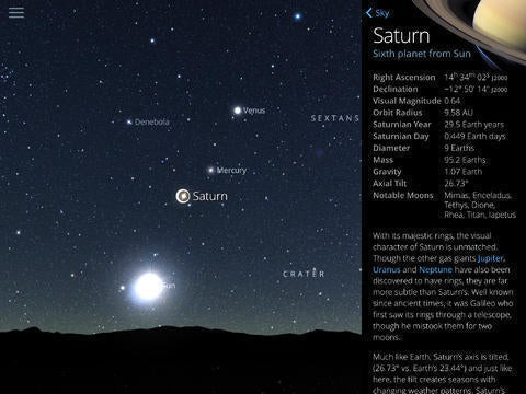 Sky Guide: View Stars Night or Day (Fifth Star Labs)