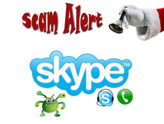 Skype Message Scare