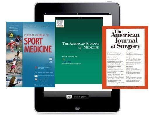 The iPad Provides Digital Versions of Academic Medical Journals