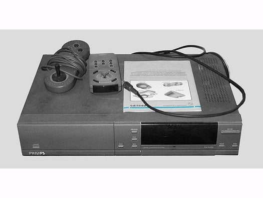 A Philips CD-i 220 console