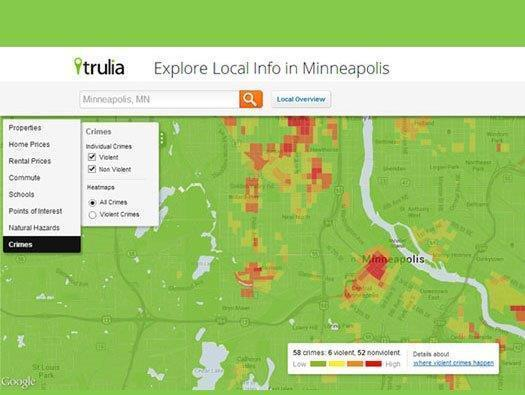 Trulia: Local Real Estate Maps