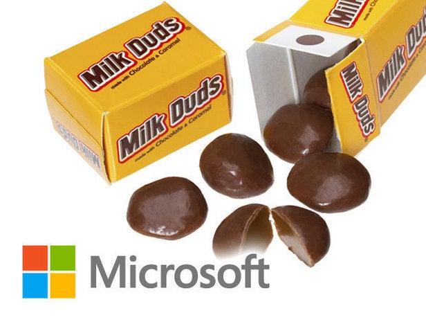 Microsoft/Milk Duds