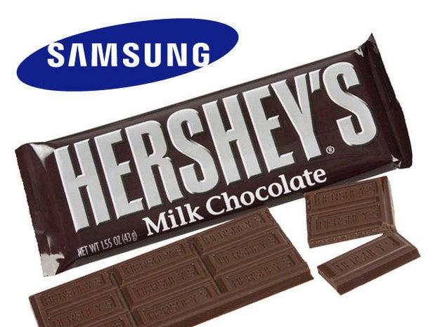 Samsung/Hershey's Milk Chocolate Bar