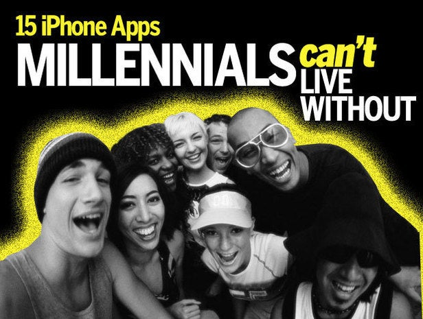millennial iphone apps