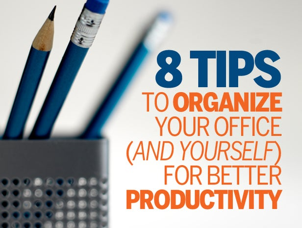 8 simple ways to increase your office productivity cio - Five easy cleaning tips get some time for yourself ...