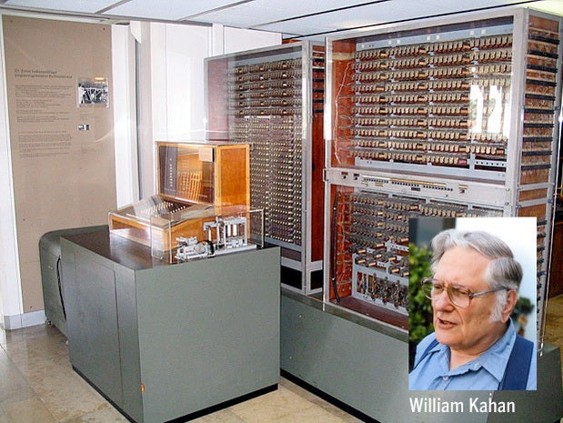 'Father of Floating Point' wins Turing