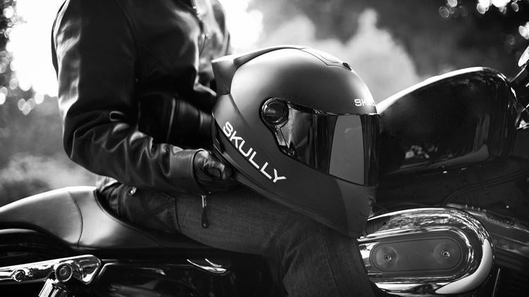 Skully Helmet: High-tech safety for motorcycle riders