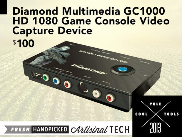 Diamond Multimedia GC1000 HD 1080 Game Console Video Capture Device