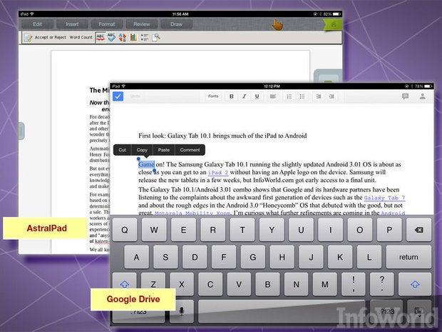 Google Drive, AstralPad