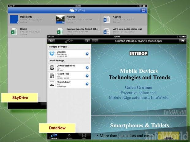 Microsoft SkyDrive, Google Drive, AppSense DataNow