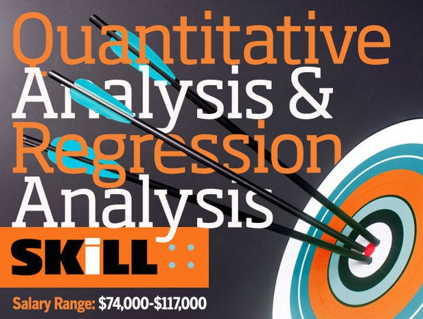 Quantitative Analysis and Regression Analysis Skills