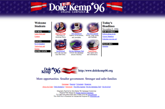 Dole-Kemp '96