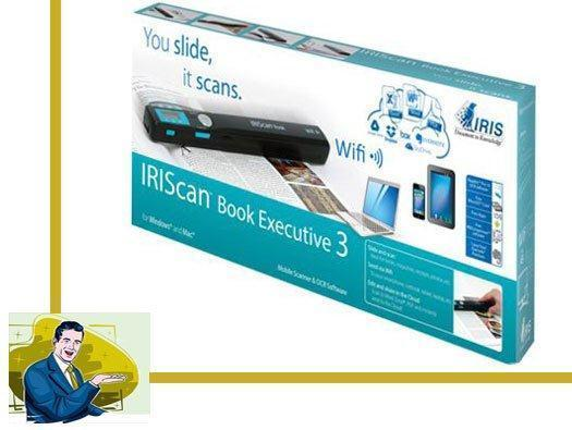 IRIScan Book 3 Executive Scanner