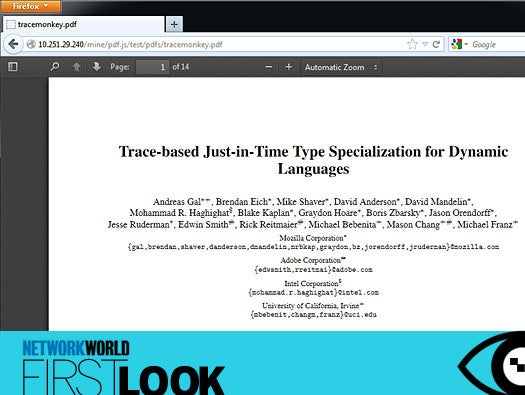 Firefox 19 Gets PDF Viewer, and More | CIO