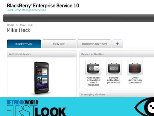 BlackBerry Enterprise Service 10