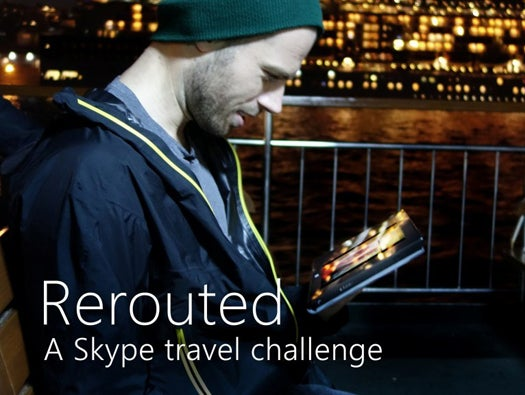 Skype Rerouted
