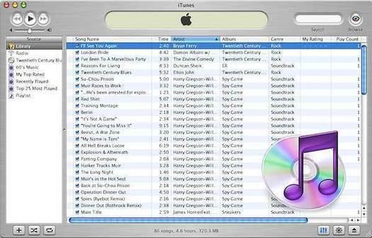 iTunes 3.0