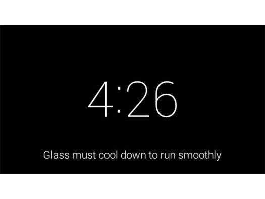 Glass Gets Warm Too Easily