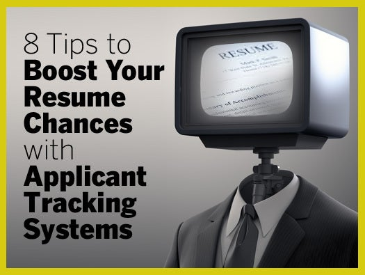 8 Tips to Boost Your Resume Chances with Applicant Tracking Systems  CIO