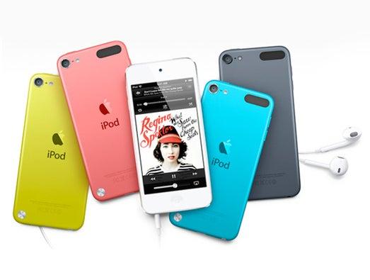 New iPod lineup