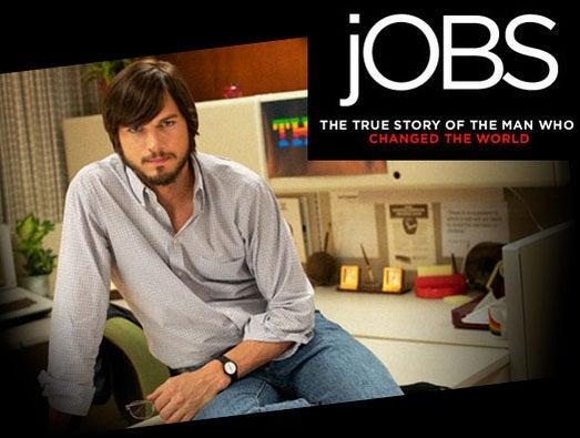 The new Steve Jobs: Ashton Kutcher