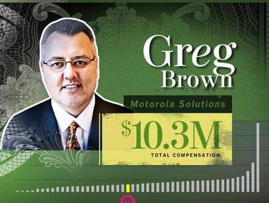 Greg Brown, Motorola Solutions CEO and chairman