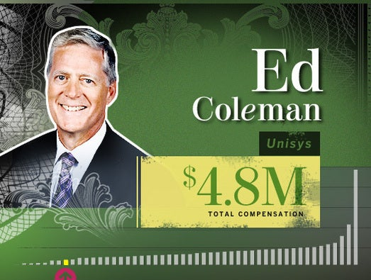Ed Coleman, Unisys CEO and chairman