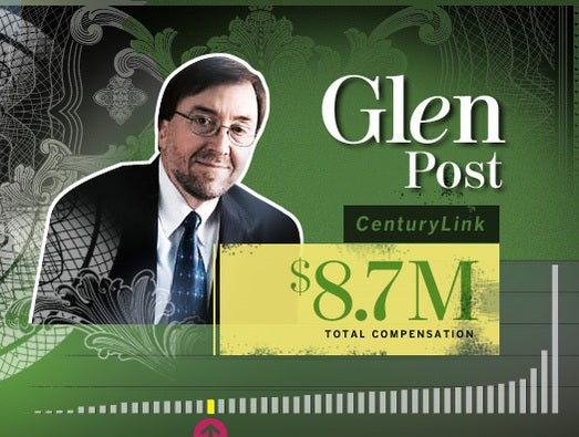 Glen Post, CenturyLink CEO and president