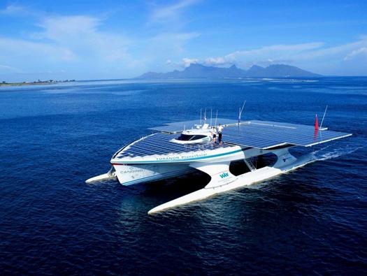 PlanetSolar boat