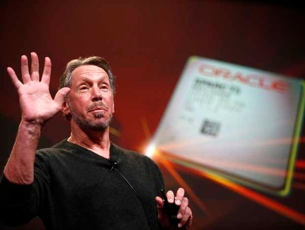 Larry Ellison, Oracle CEO