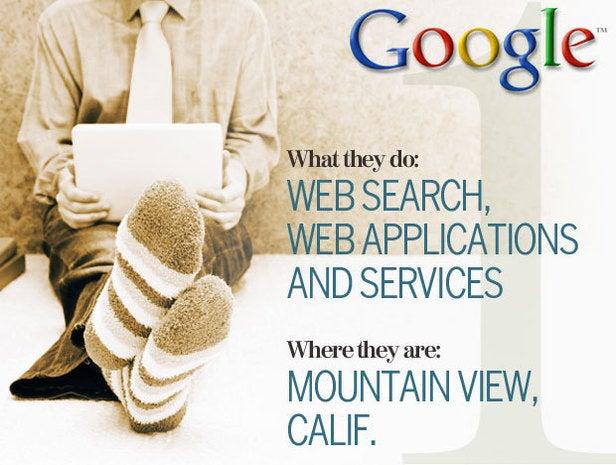 Google, telecommuting
