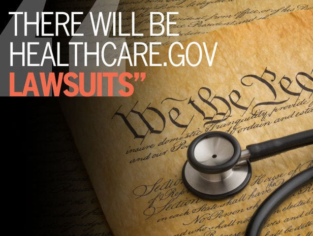 There Will Be Healthcare.gov Lawsuits