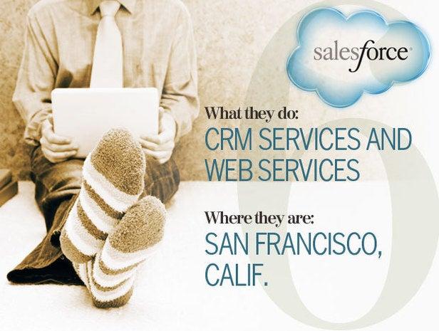 Salesforce.com, telecommuting